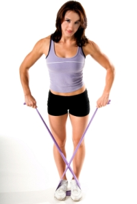 Stretch Band Yoga Work Out